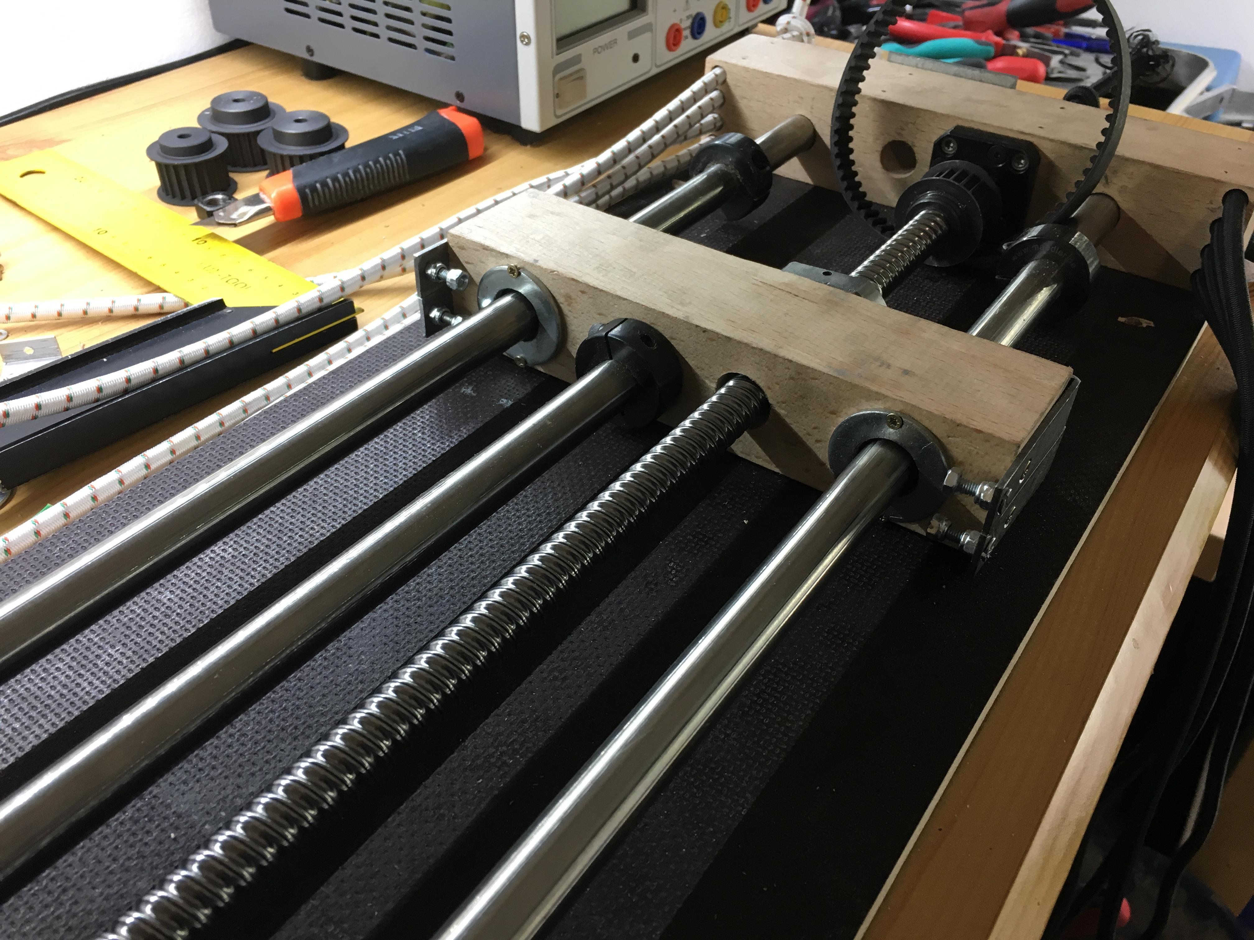 DIY 6DOF Motion Platform